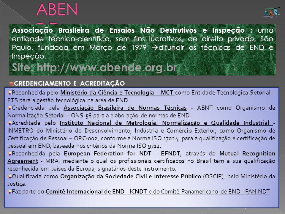 ABENDE Site: http://www.abende.org.br