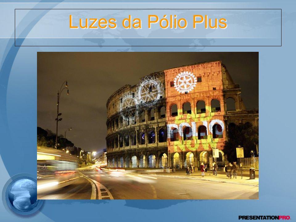 Luzes da Pólio Plus