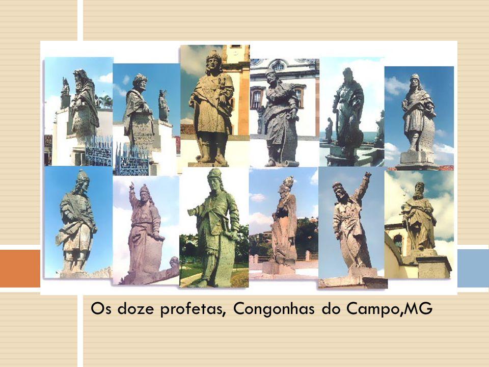 Os doze profetas, Congonhas do Campo,MG