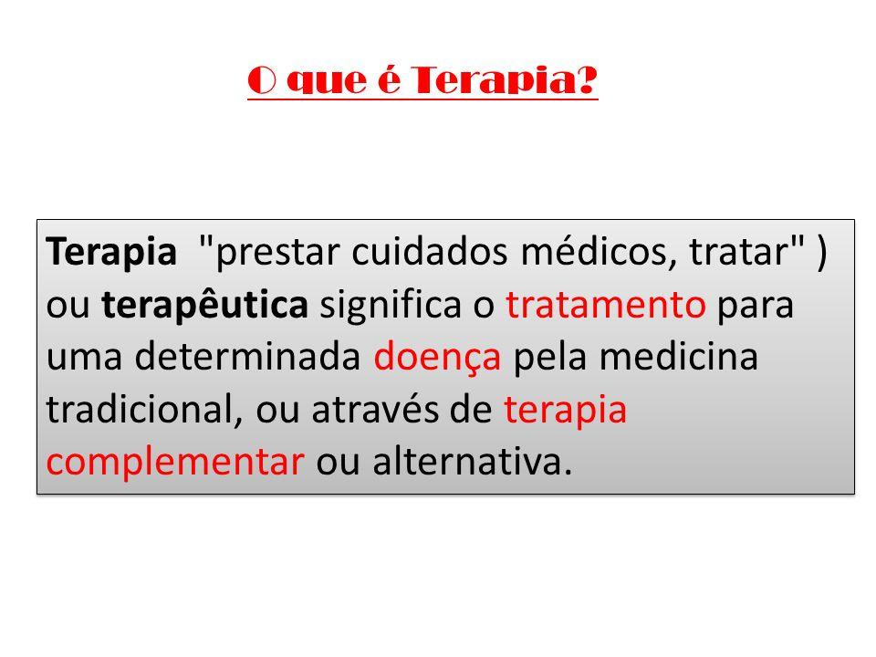 O que é Terapia