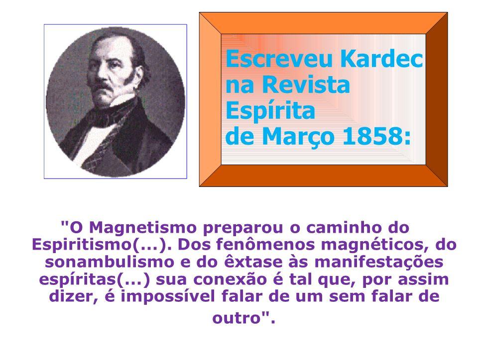 Escreveu Kardec na Revista Espírita