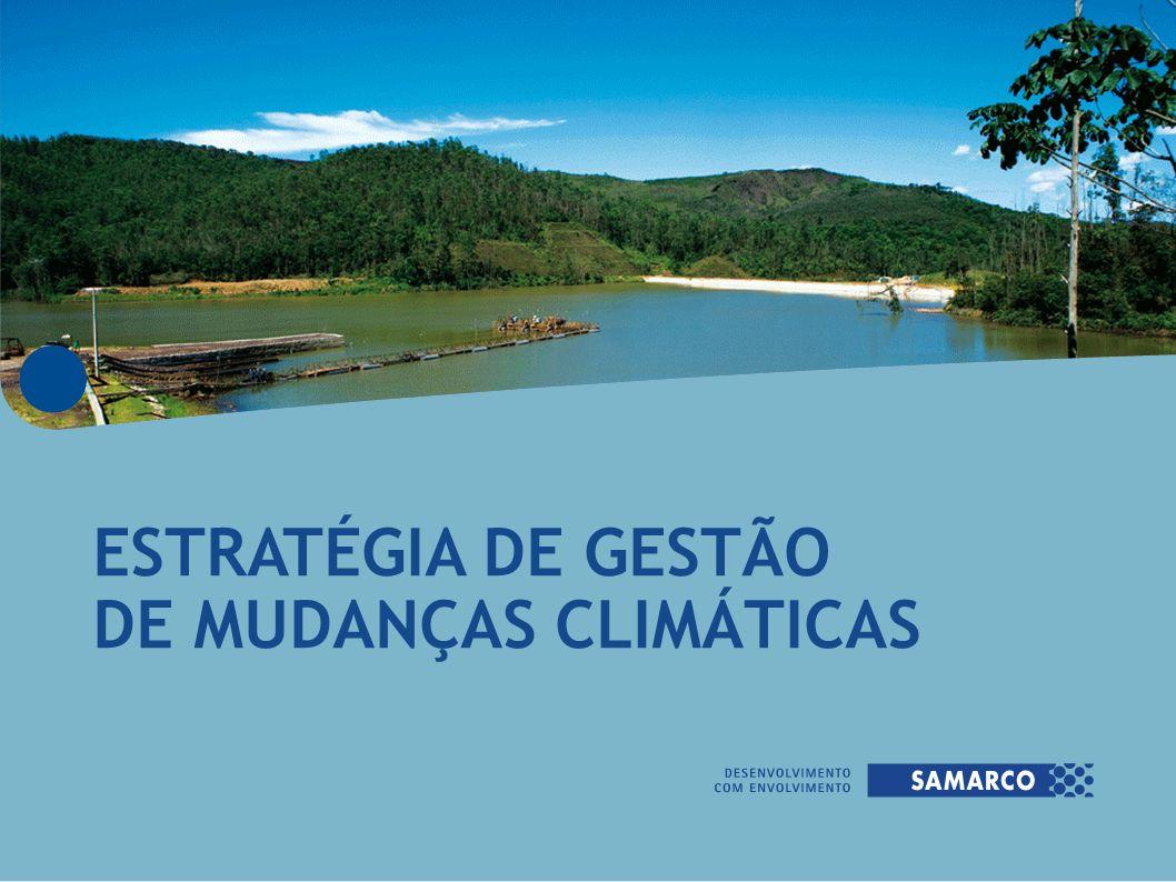 ESTRATÉGIA DE GESTÃO DE MUDANÇAS CLIMÁTICAS
