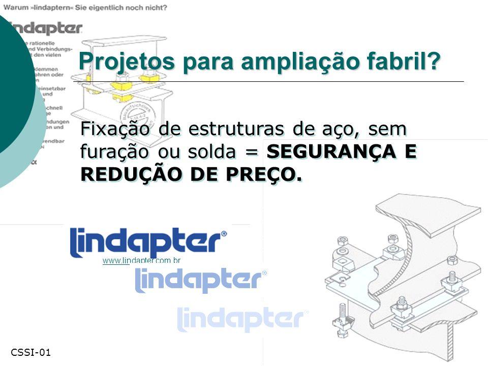 Projetos para ampliação fabril