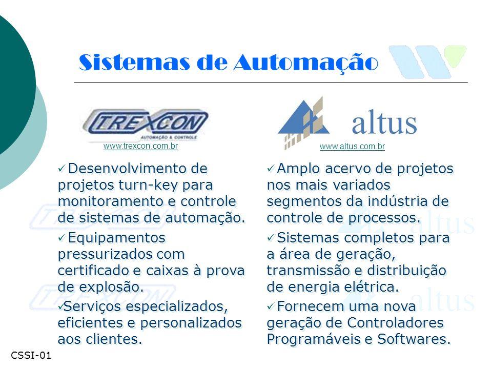 Sistemas de Automação www.trexcon.com.br. www.altus.com.br.