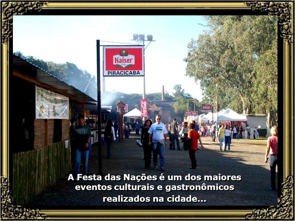 A Festa das Nações é um dos maiores eventos culturais e gastronômicos realizados na cidade...