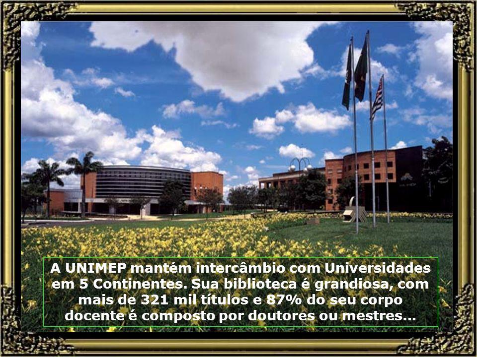 A UNIMEP mantém intercâmbio com Universidades em 5 Continentes