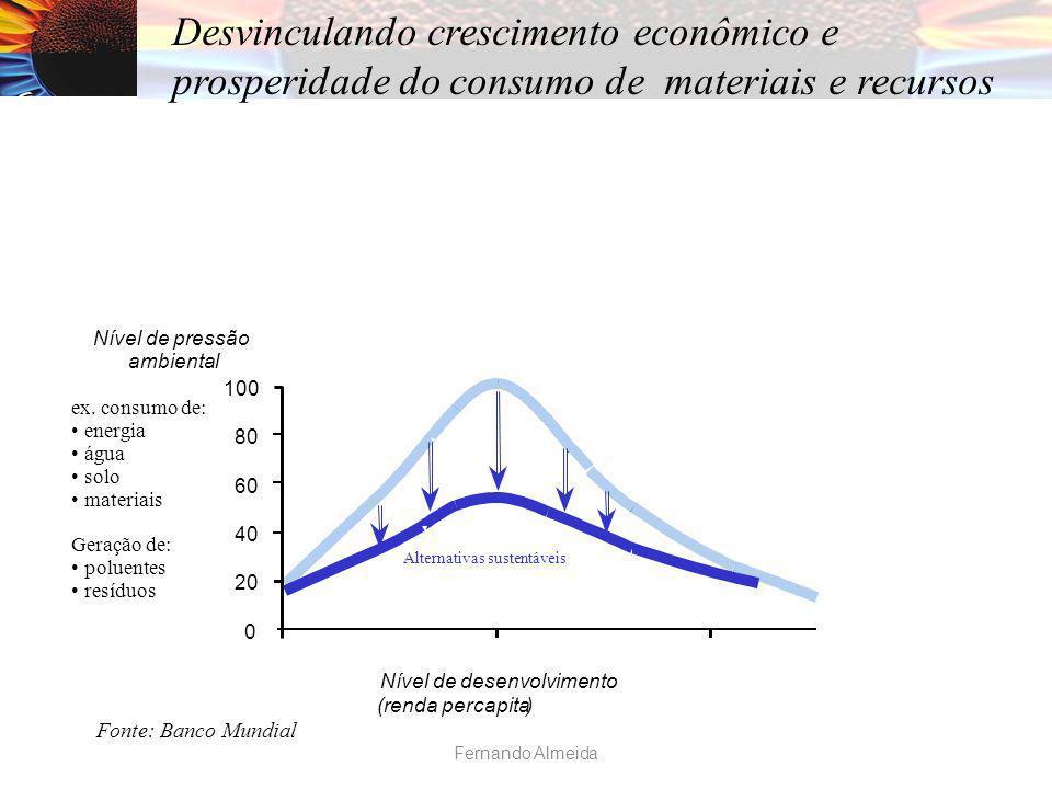 Desvinculando crescimento econômico e prosperidade do consumo de materiais e recursos