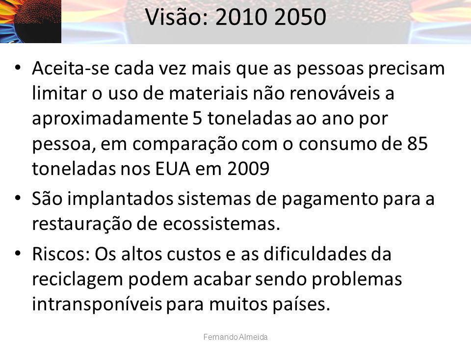Visão: 2010 2050