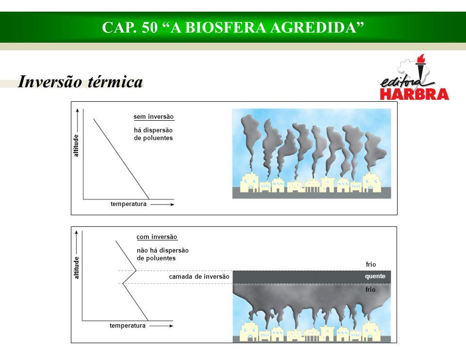 CAP. 50 A BIOSFERA AGREDIDA