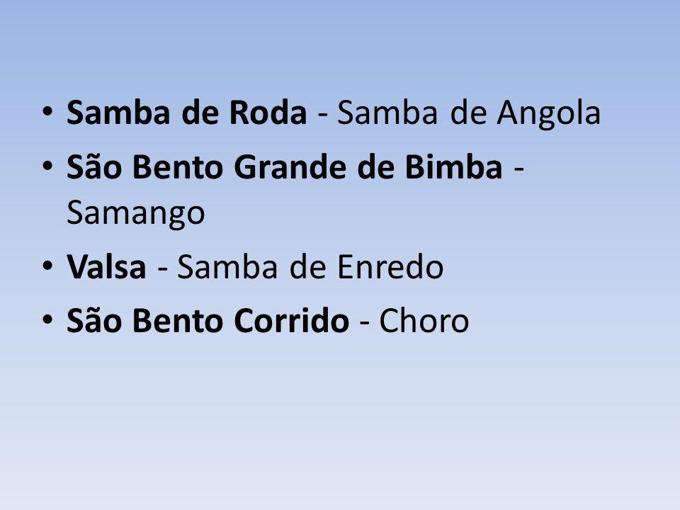 Samba de Roda - Samba de Angola