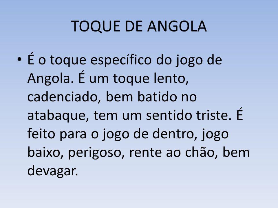 TOQUE DE ANGOLA