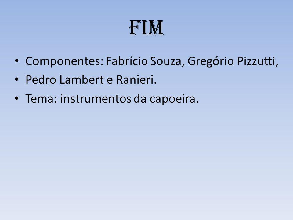 FIM Componentes: Fabrício Souza, Gregório Pizzutti,
