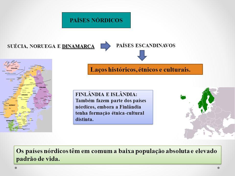 Laços históricos, étnicos e culturais.