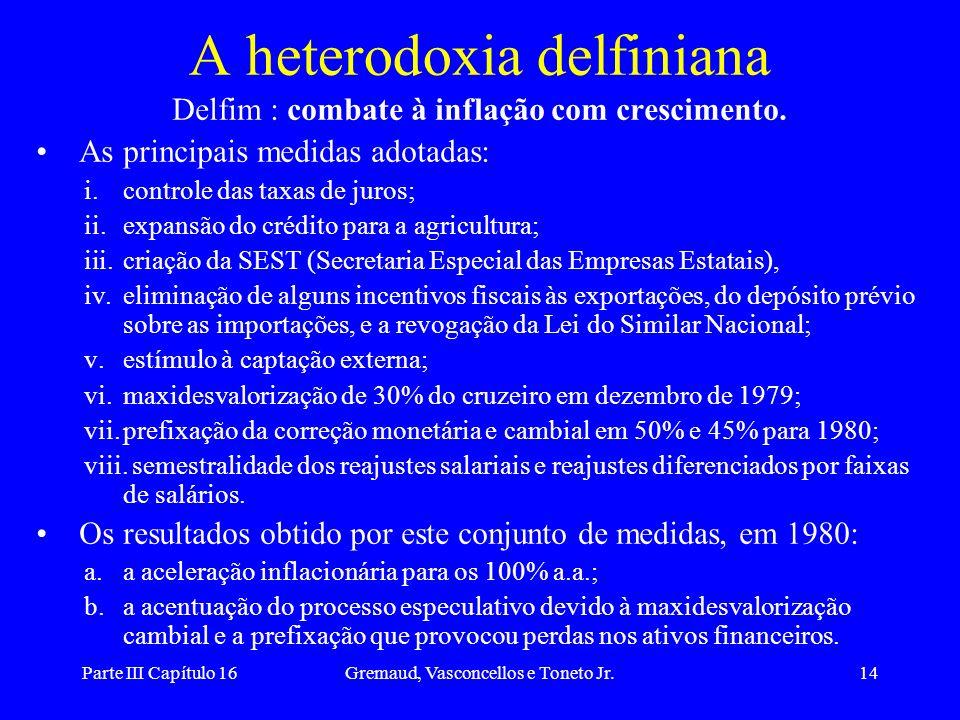 A heterodoxia delfiniana