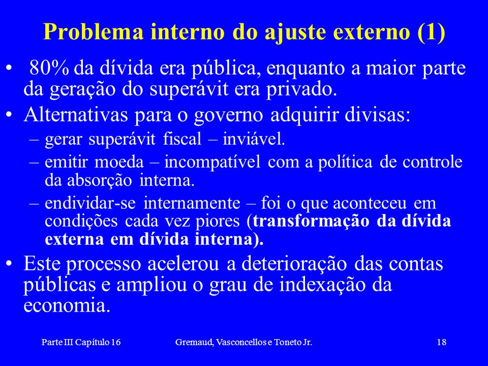 Problema interno do ajuste externo (1)