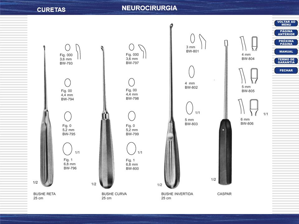 NEUROCIRURGIA CURETAS