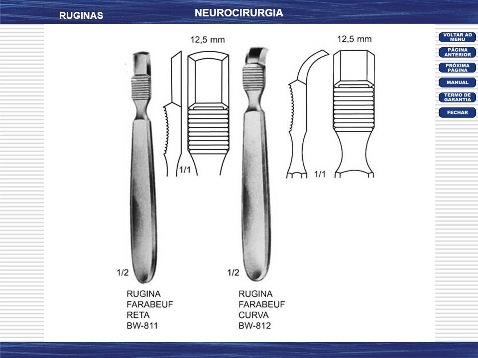 NEUROCIRURGIA RUGINAS