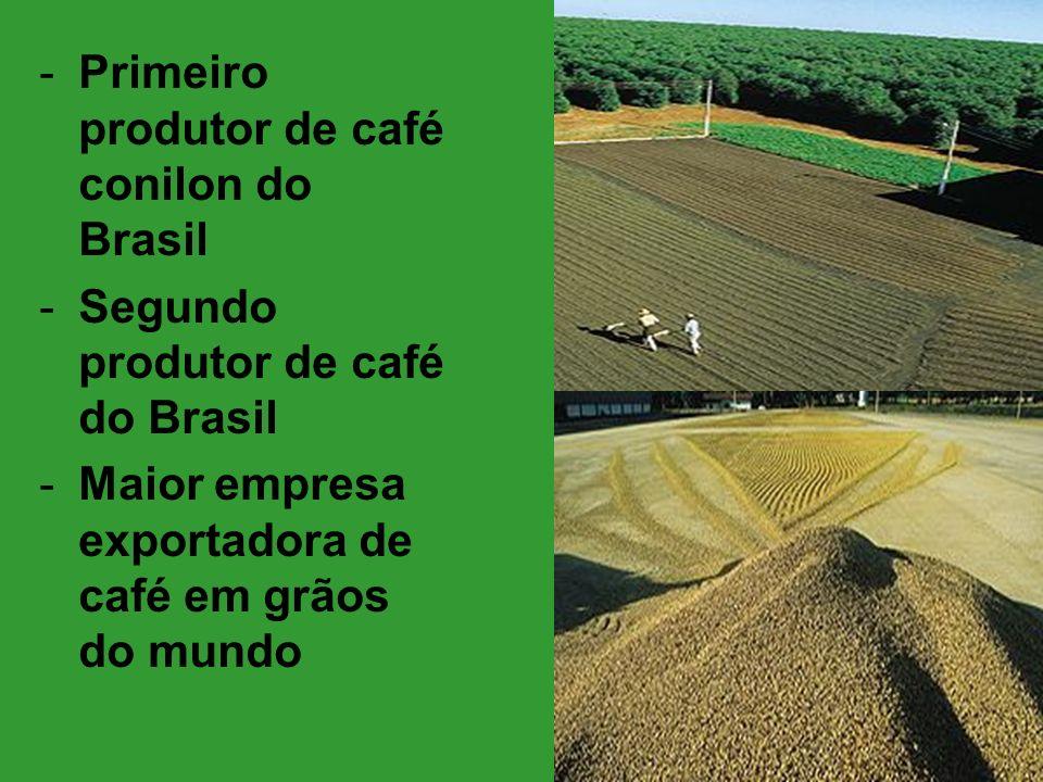 Primeiro produtor de café conilon do Brasil