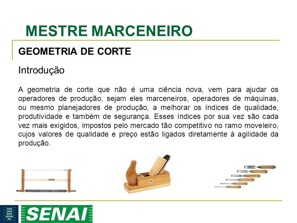GEOMETRIA DE CORTE Introdução