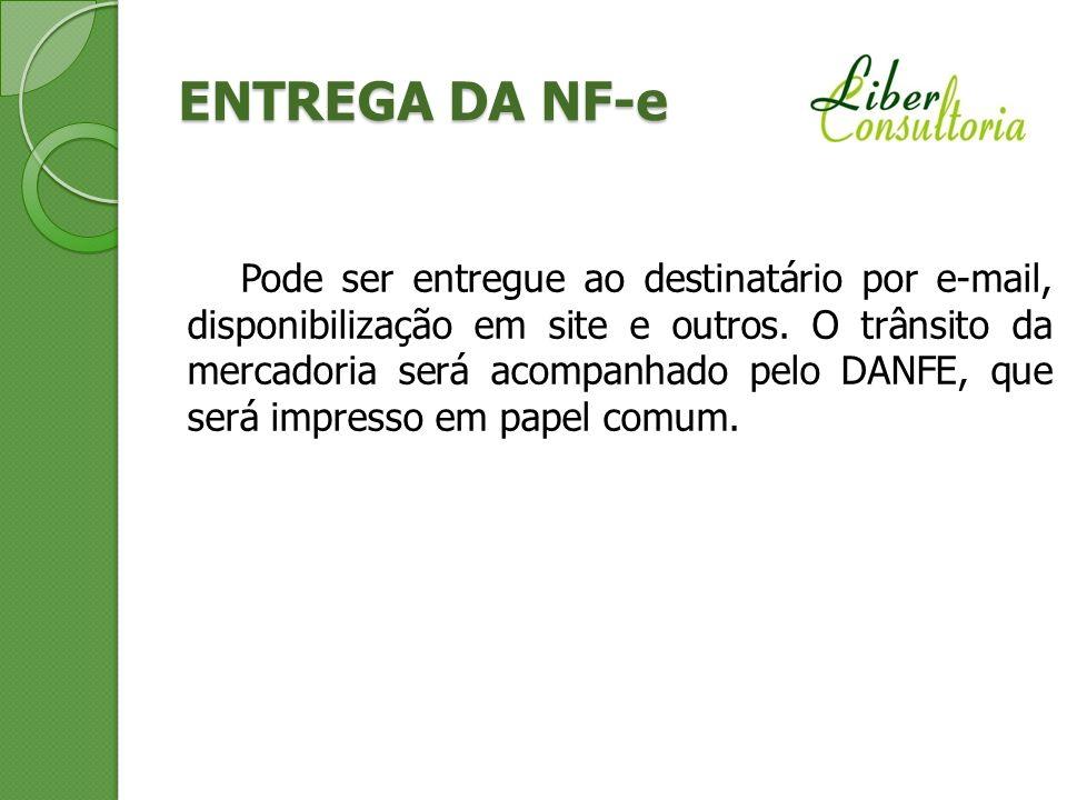 ENTREGA DA NF-e