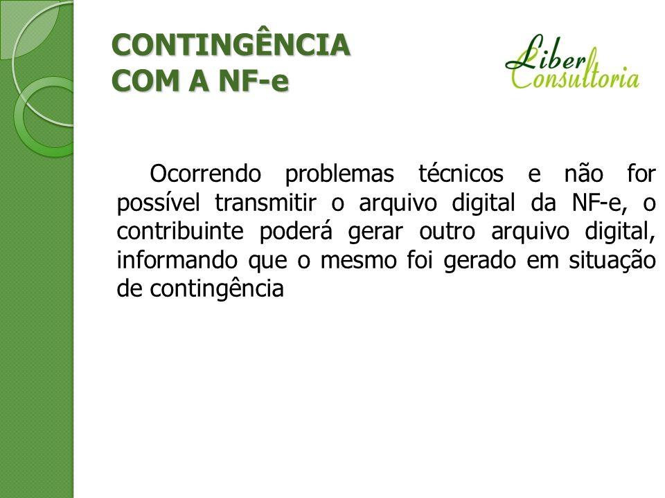 CONTINGÊNCIA COM A NF-e