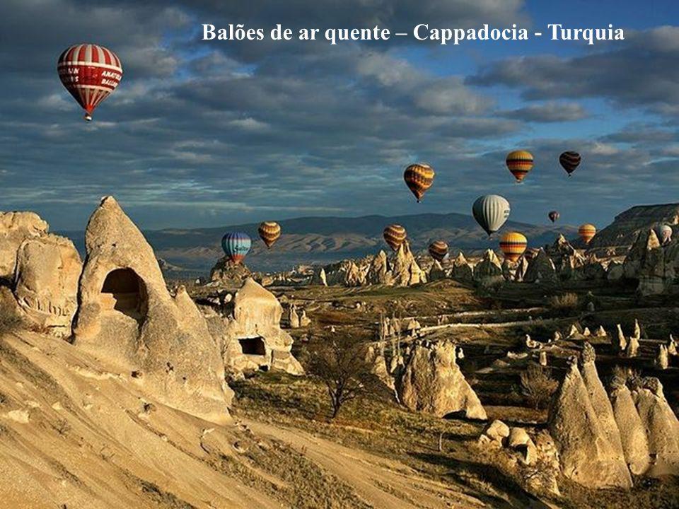 Balões de ar quente – Cappadocia - Turquia