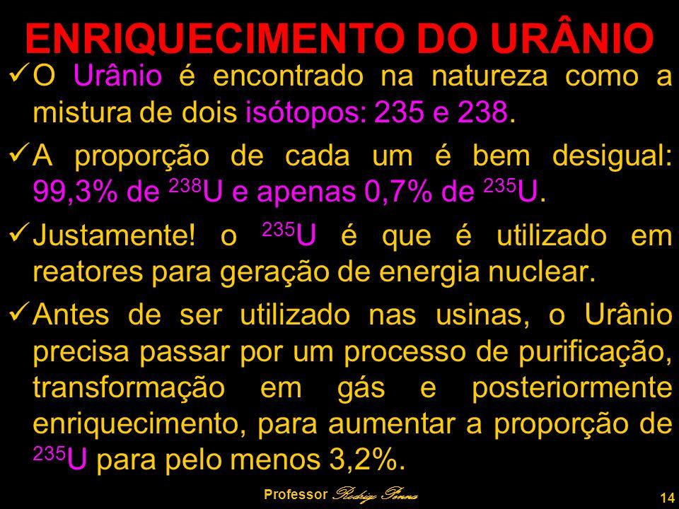 ENRIQUECIMENTO DO URÂNIO