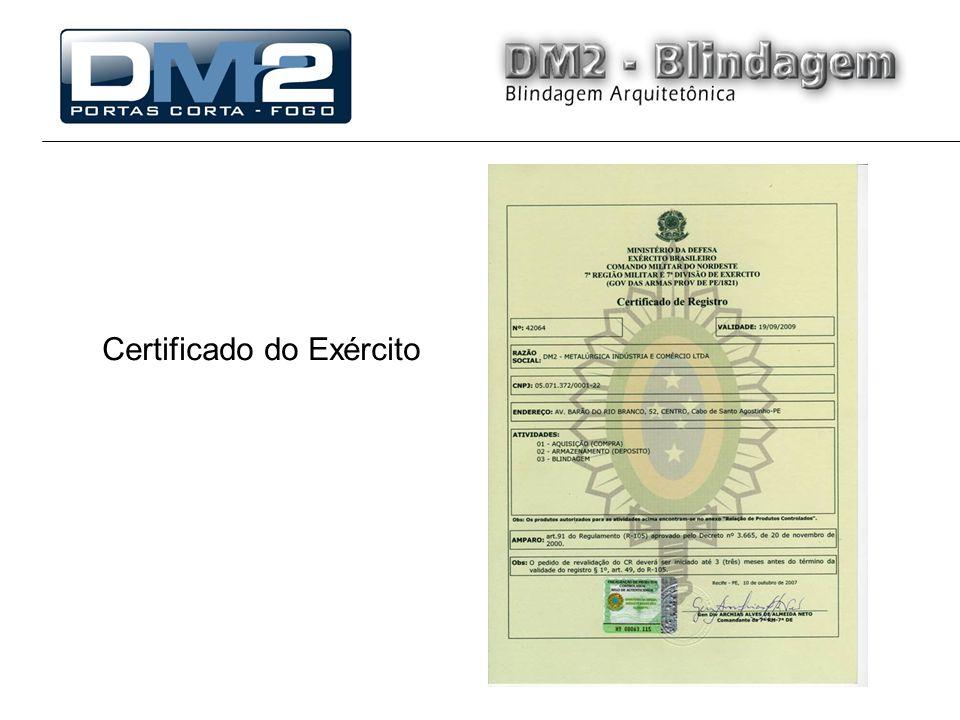 Certificado do Exército
