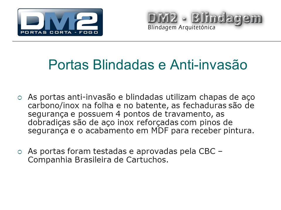 Portas Blindadas e Anti-invasão