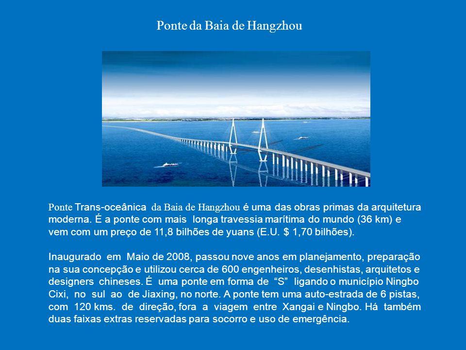 Ponte da Baia de Hangzhou