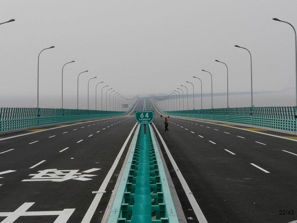 The $140 billion 6-lane highway has 2 extra safety lanes