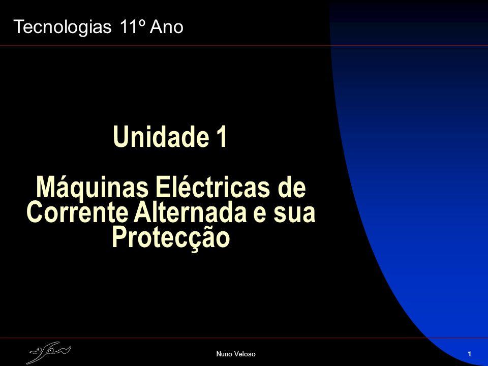 Máquinas Eléctricas de Corrente Alternada e sua Protecção