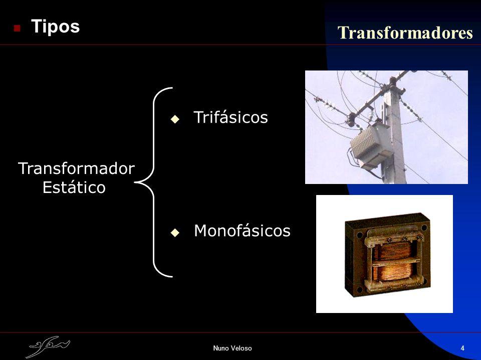 Tipos Transformadores Trifásicos Transformador Estático Monofásicos