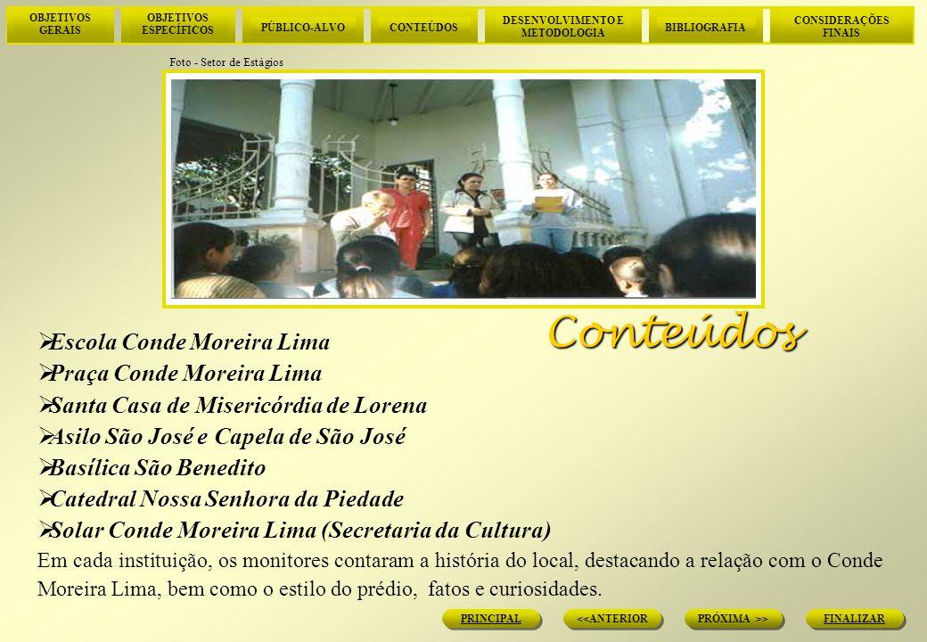 Conteúdos Escola Conde Moreira Lima Praça Conde Moreira Lima