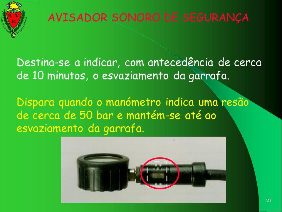 AVISADOR SONORO DE SEGURANÇA