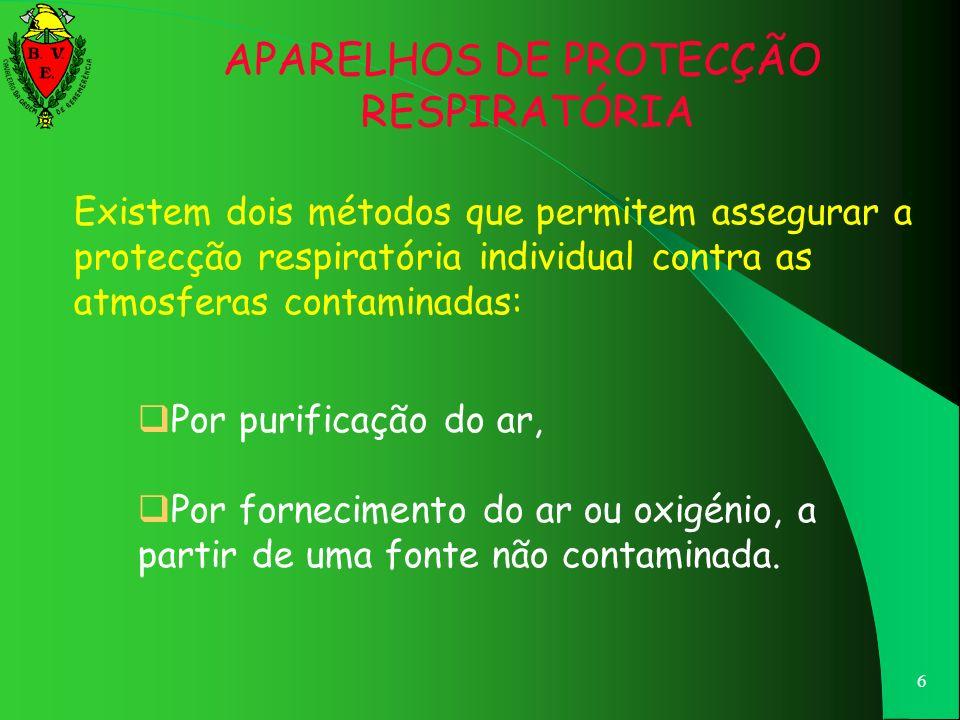 APARELHOS DE PROTECÇÃO