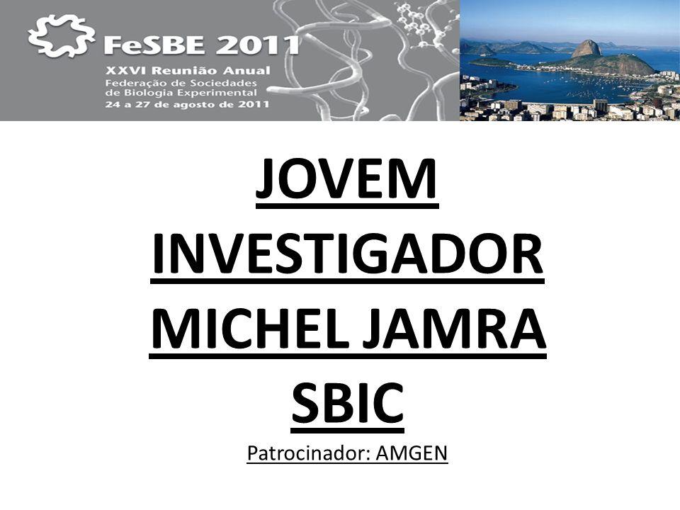 JOVEM INVESTIGADOR MICHEL JAMRA