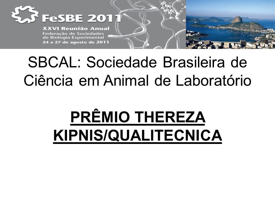 PRÊMIO THEREZA KIPNIS/QUALITECNICA