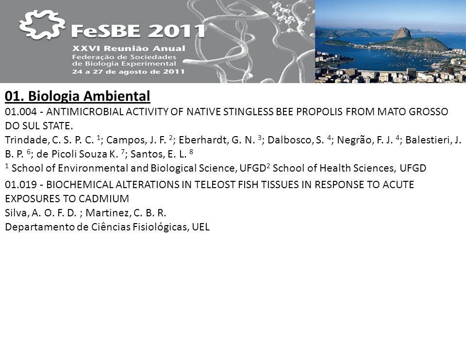 01. Biologia Ambiental