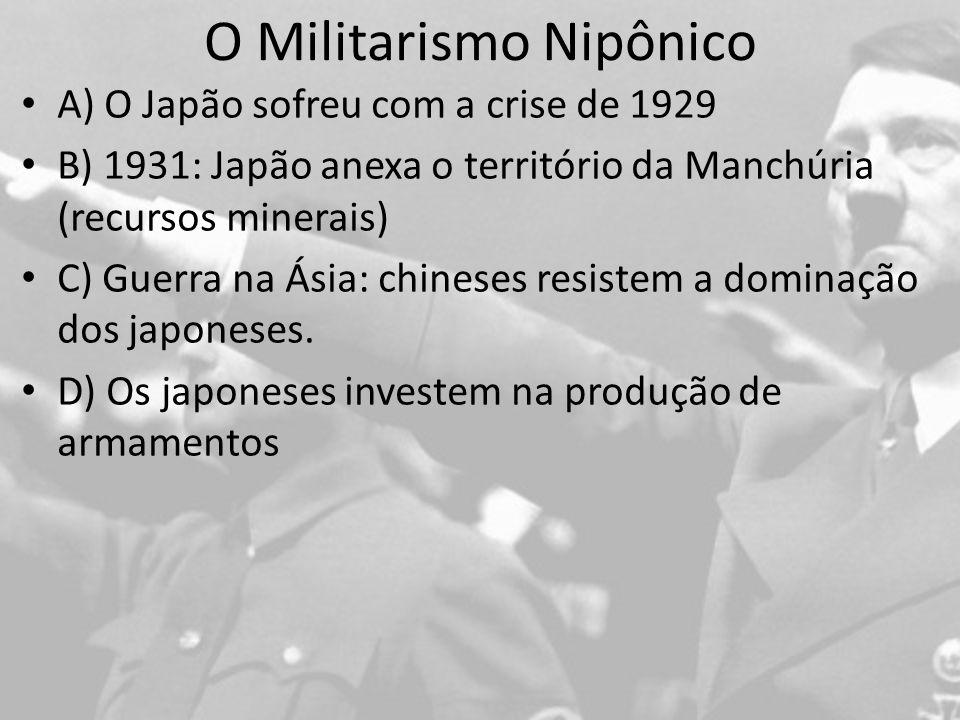 O Militarismo Nipônico