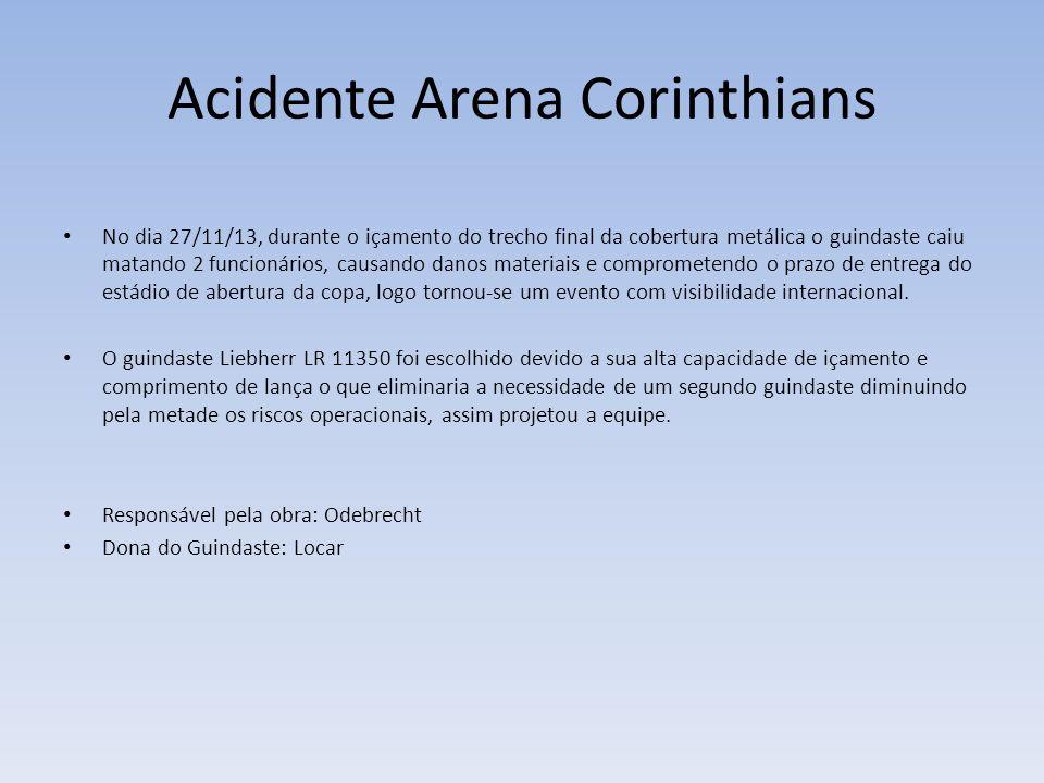 Acidente Arena Corinthians