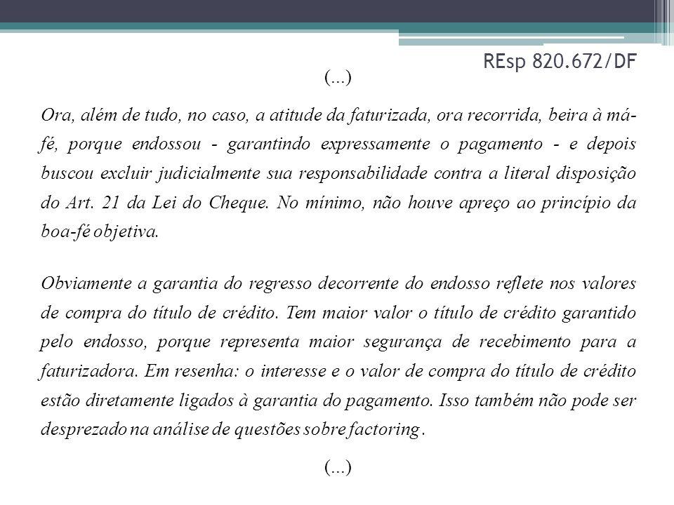 REsp 820.672/DF