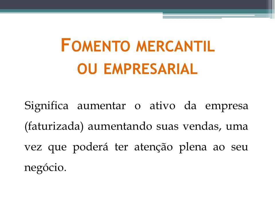 Fomento mercantil ou empresarial