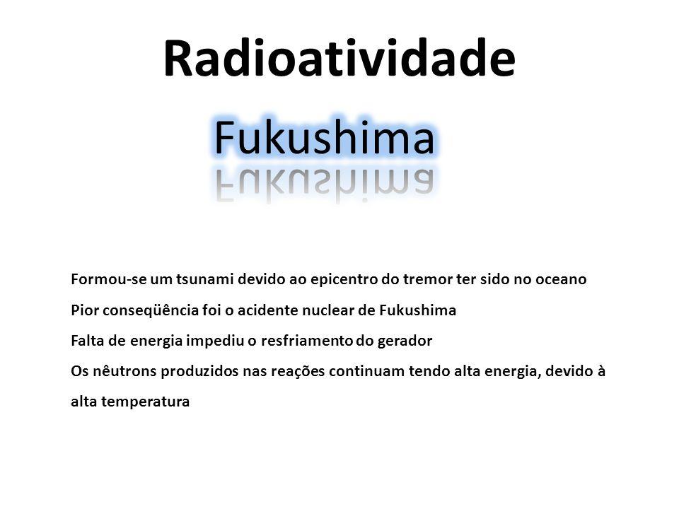 Radioatividade Fukushima