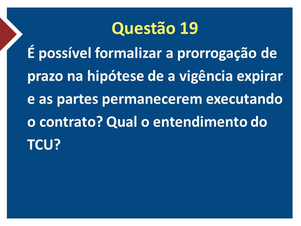 Questão 19