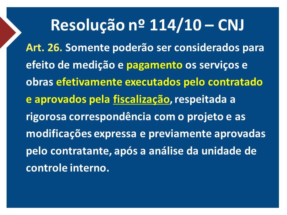 Resolução nº 114/10 – CNJ