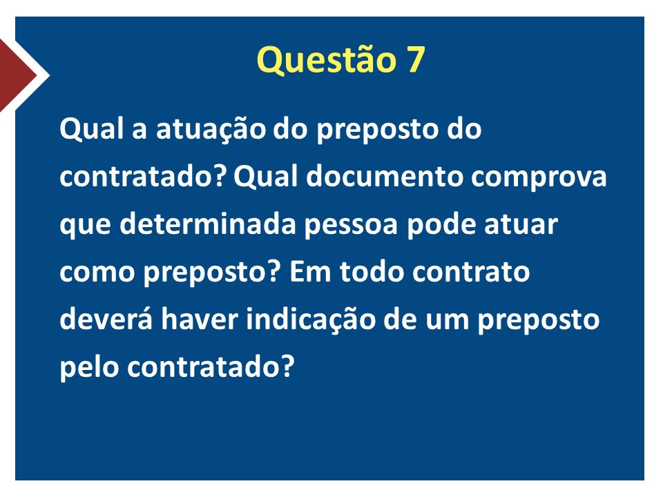 Questão 7