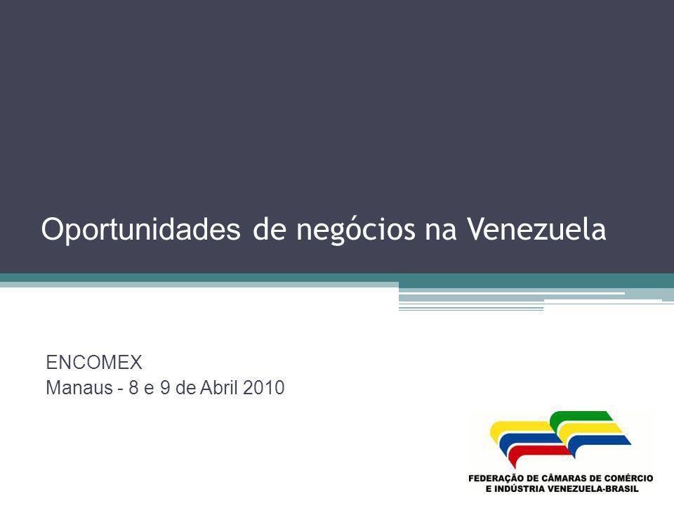 Oportunidades de negócios na Venezuela