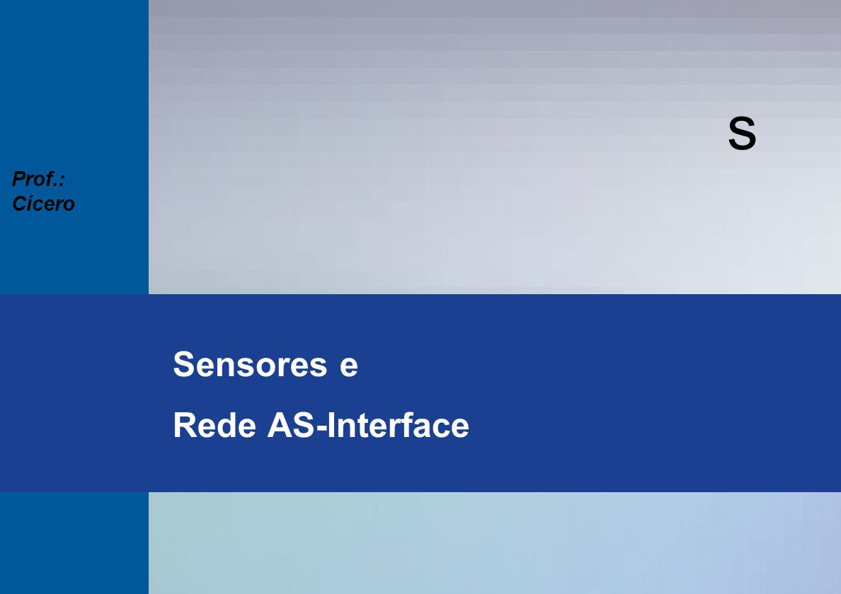 Sensores e Rede AS-Interface
