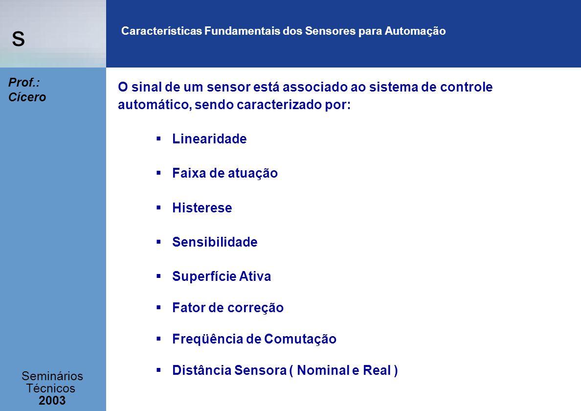 Características Fundamentais dos Sensores para Automação
